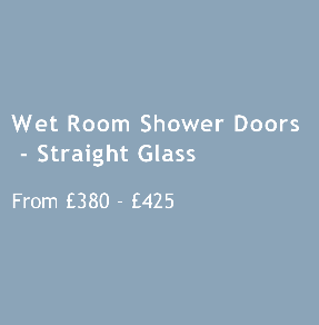 Wet Room Shower Doors Straight