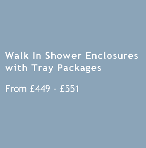 Walk In Shower Enclosures with Tray All 1