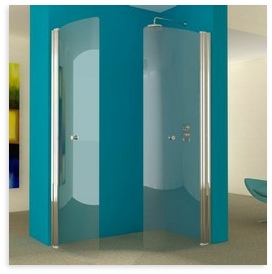 UniArc 1300x750 Hinged Wet Room Shower Screens